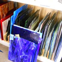 Stained Glass Reflections glass pieces
