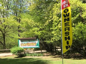 Canyon Country Campground sign