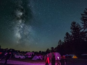 Cherry Springs State Park Star Party in the Astrodomes