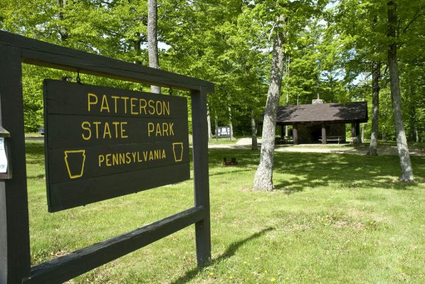 Patterson State Park sign