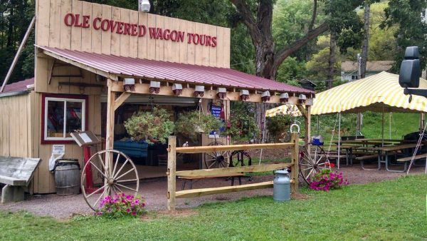 Ole Covered Wagon gift shop 2014