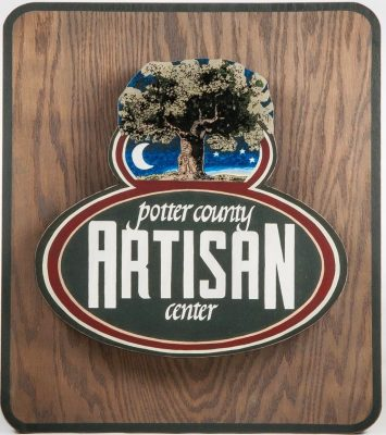 Potter County Artisan Center sign