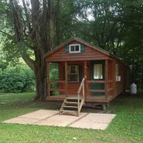 crooked creek campground cabin