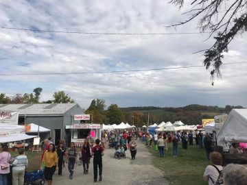 PA Apple and Cheese Festival group of people