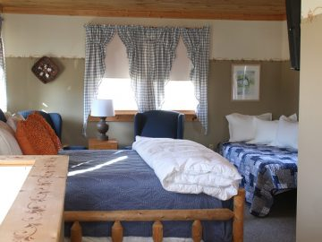 Frosty Hollow Lodges Bedroom