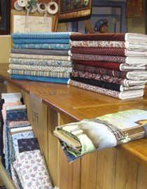 Canyon Country Fabric display