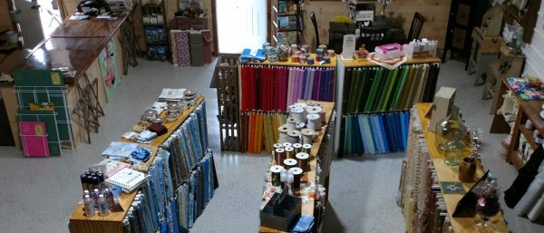 Canyon Country Fabric interior of the shop