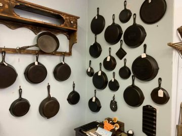 Heritage Springs Marketplace cast iron pans