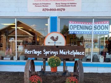 Heritage Springs Marketplace sign