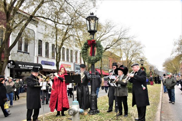 Visit Potter-Tioga Holiday Band Playing