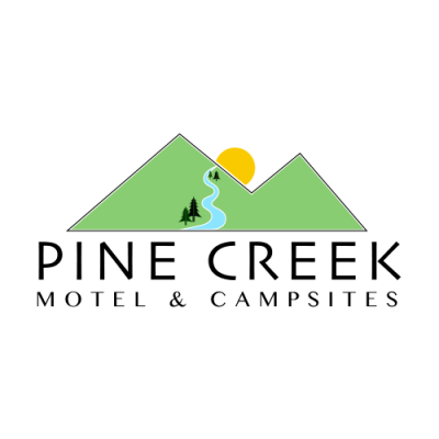 Pine Creek Motel and Campsites logo
