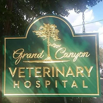 Grand Canyon Veterinary signage