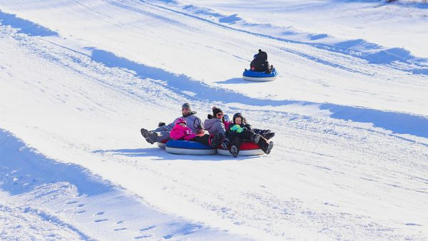 Snow tubing in Potter-Tioga county