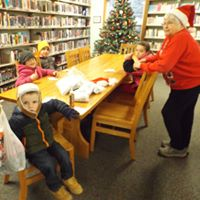 Kids at the Galeton Public Library
