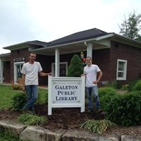 Galeton Public Library front sign